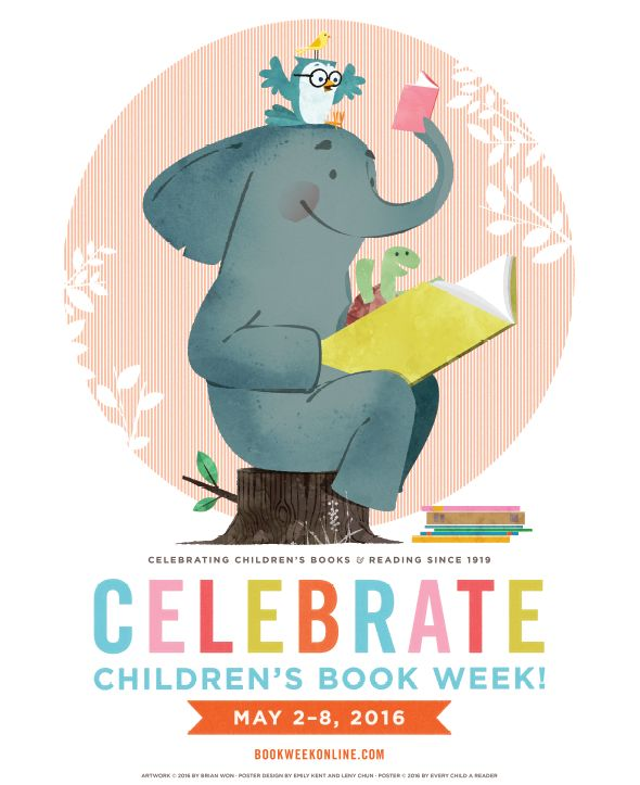 97th Annual Children's Book Week Poster Revealed! | Children's Book Council