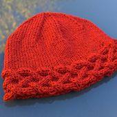 Rhun baby beanie  knitting pattern