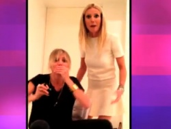 Gwyneth Paltrow & Cameron Diaz Rap, Dry Hump Camera on Chelsea Lately (VIDEO)