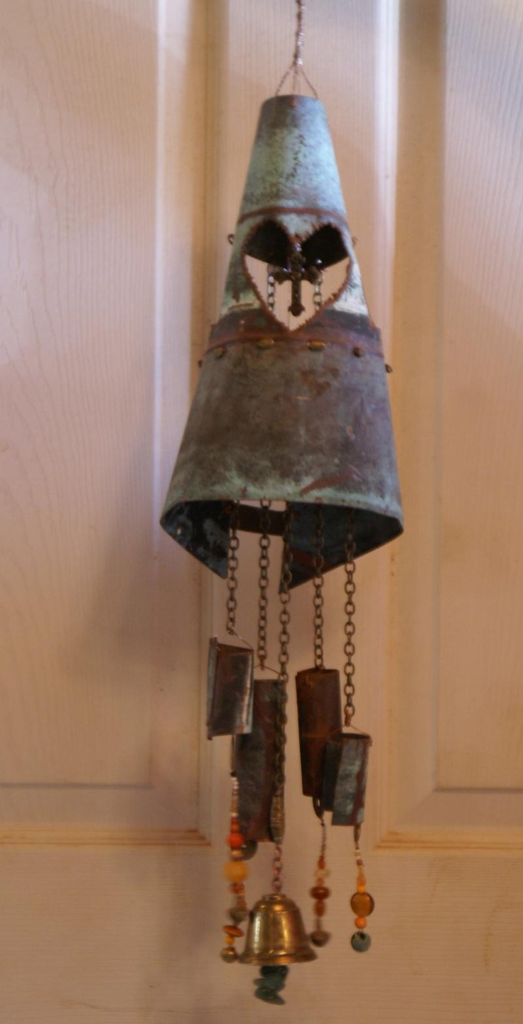 146 Best Bells And Wind Chimes Yard Art Images On