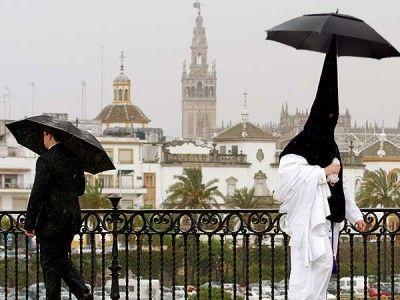 Sevilla. Semana Santa con lluvia