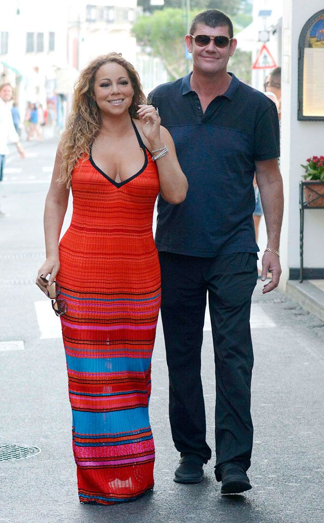 Mariah Carey and James Packer ''Not Talking Marriage'' but She's ''Having a Lot of Fun Being Courted''