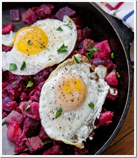 Red Flannel Hash | AM Eye Opener - Savory | Pinterest