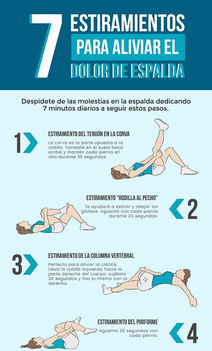 El secreto para evitar contracturas musculares, son los ESTIRAMIENTOS. Os dejamos esta infografía con algunos de ellos