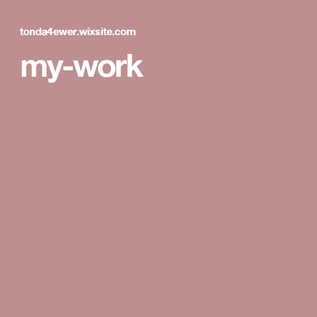 my-work