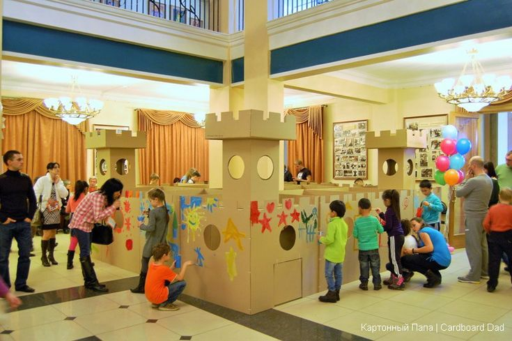 Cardboard Maze My Cardboard Kids Playgrounds Pinterest
