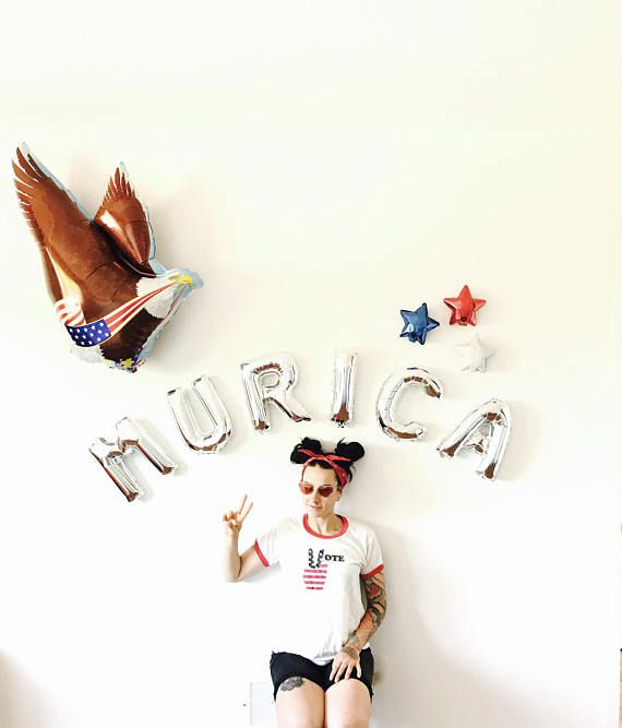 Murica Party Pack – Red White and Blue, Independence Day, July 4th, Fourth of July, Patriotic, USA, America, Barbecue, Photo booth Backdrop