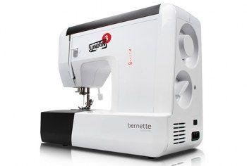 Macchina per cucire Bernina Bernette London 3 - E' una macchina da cucire meccanica e il modello base della famiglia Bernette. Facile da utilizzare e quindi perfetta per i principianti.