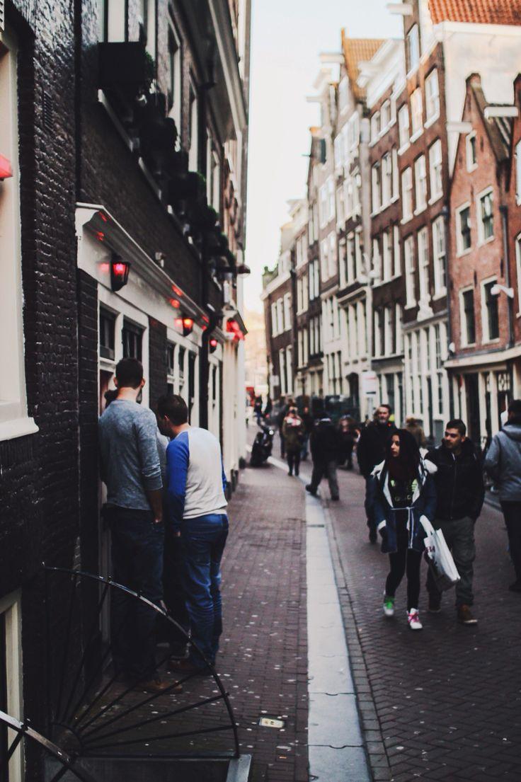 Negotiation Red Light District, Amsterdam