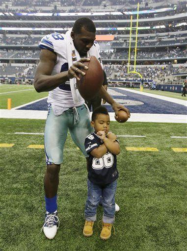 Dez Bryant & son