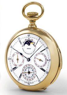 A century-old Patek Philippe pocket watch