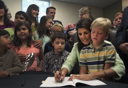 South Carolina Governor Joins With Kids to Sign Bill Banning Abortions After 20 Weeks
