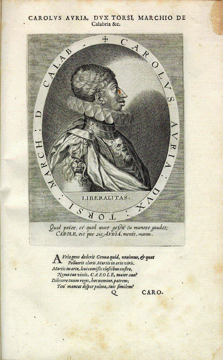 Carlo Doria, Herzog von Tursi (Basilicata)