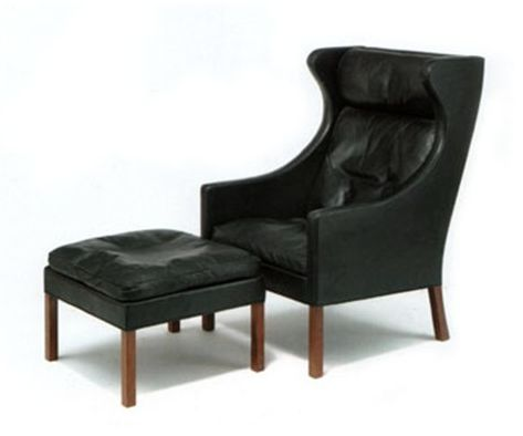 Wingback with Ottoman