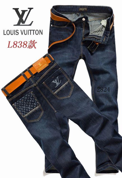 Louis Vuitton men jeans-LV16229E