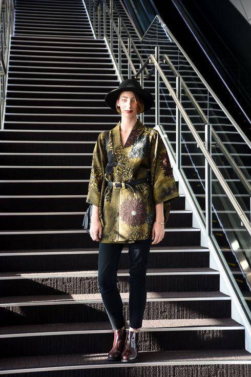 ストリートスナップ渋谷 - GUILLOT LOUISEさん - H&M, used, ZARA, エイチアンドエム, ザラ, 古着