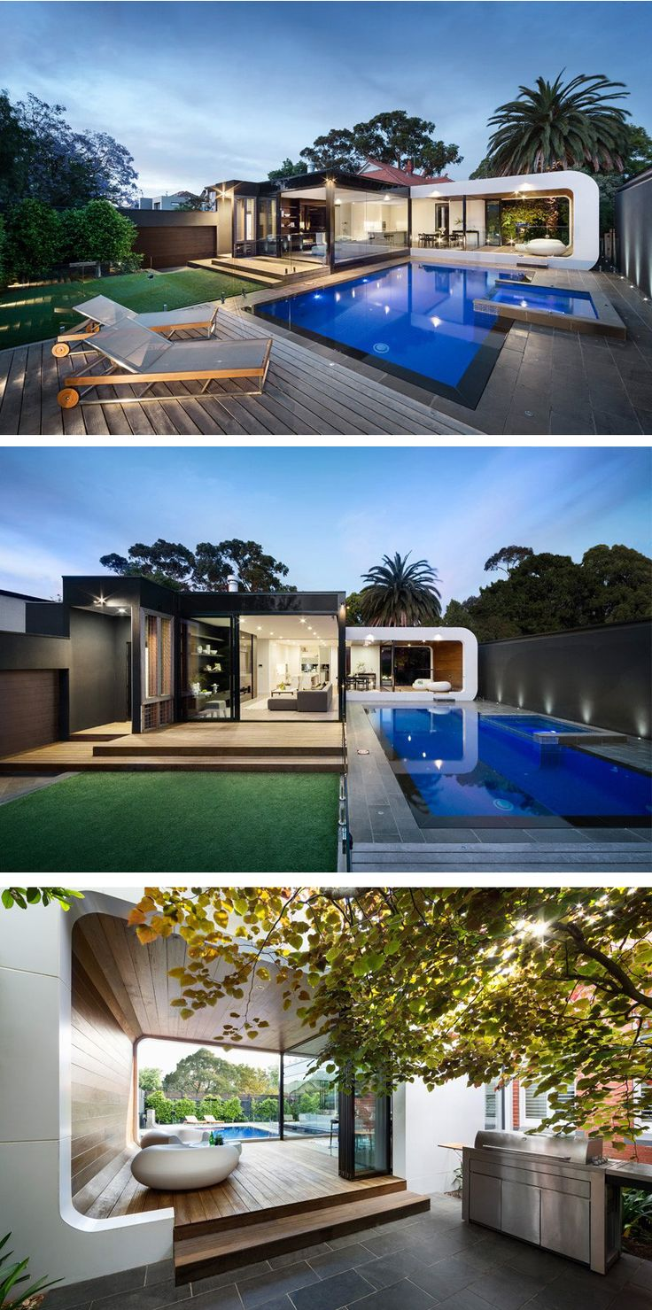 A Contemporary Addition For A Heritage Home In Melbourne