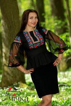Женская  блузка Ч 7101