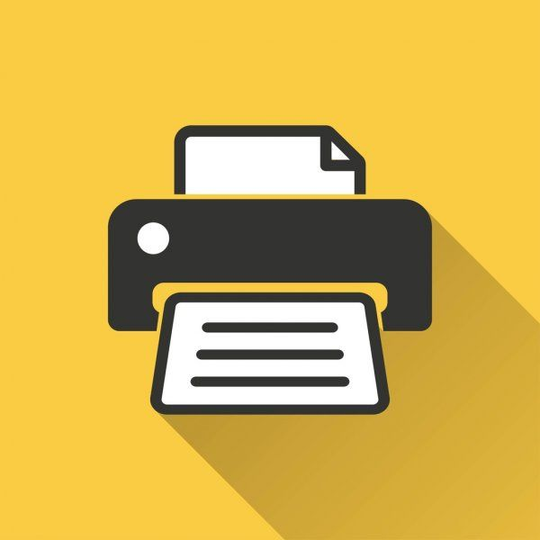 printer vector icon stock vector ad vector printer icon vector ad in 2020 printer vector image printer vector icons pinterest