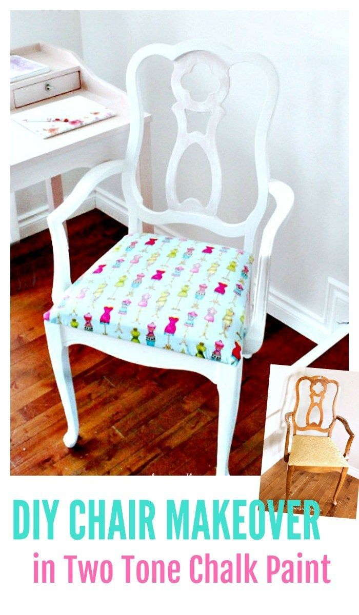 Phenomenal Thrifted French Provincial Chair Makeover Chalk Paint Download Free Architecture Designs Scobabritishbridgeorg
