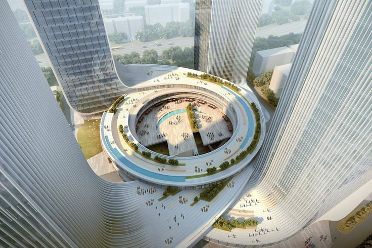 Fangda Business Headquarters Winning Proposal by Huasen Architects