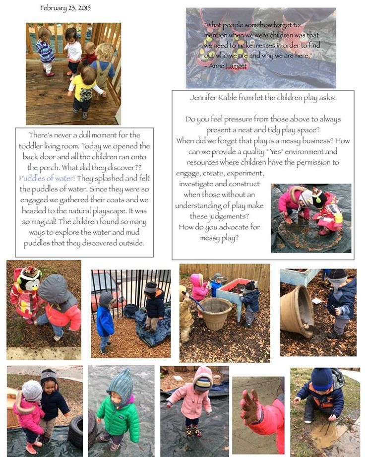 How do you advocate for messy play? The Highlander School  ≈≈