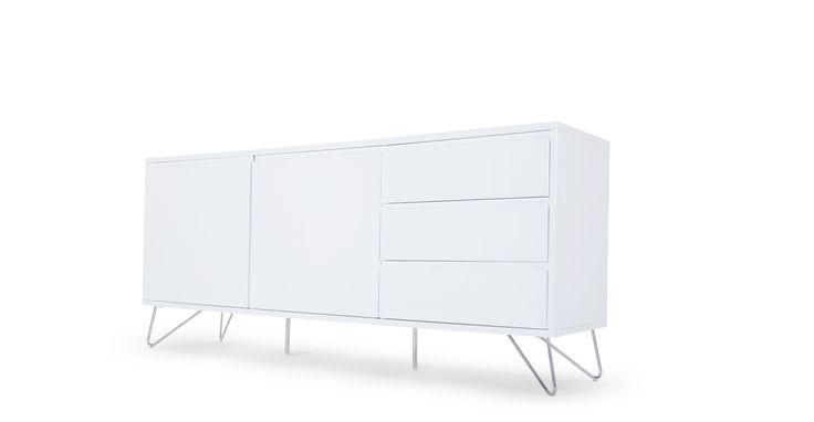 Elona Sideboard, White Gloss