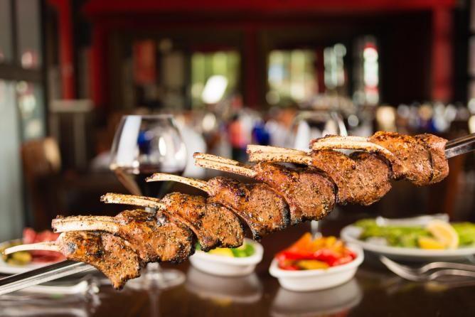 Lamb Chops at Texas de Brazil