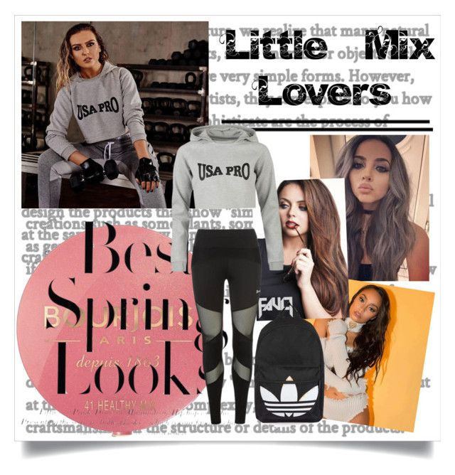 """Little Mix Lovers"" by emerald-baker ❤ liked on Polyvore featuring Bourjois, USA Pro, H&M and Topshop"
