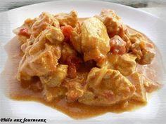 Colombo de poulet au lait de coco
