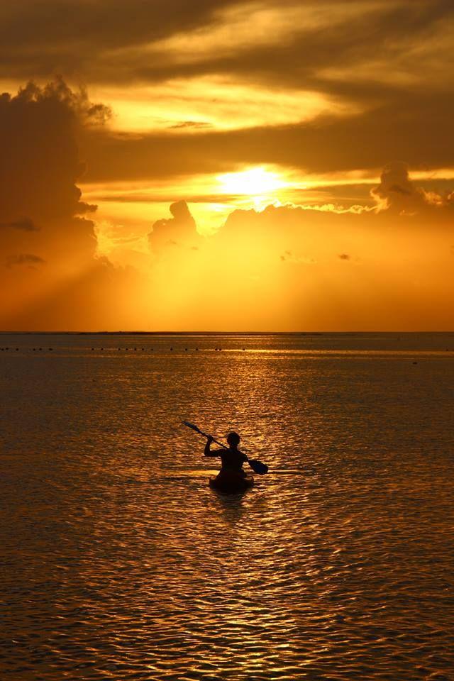 Raiatea, French Polynesia, by Sarah Wood: Sunsets Photos, Photos Challenges