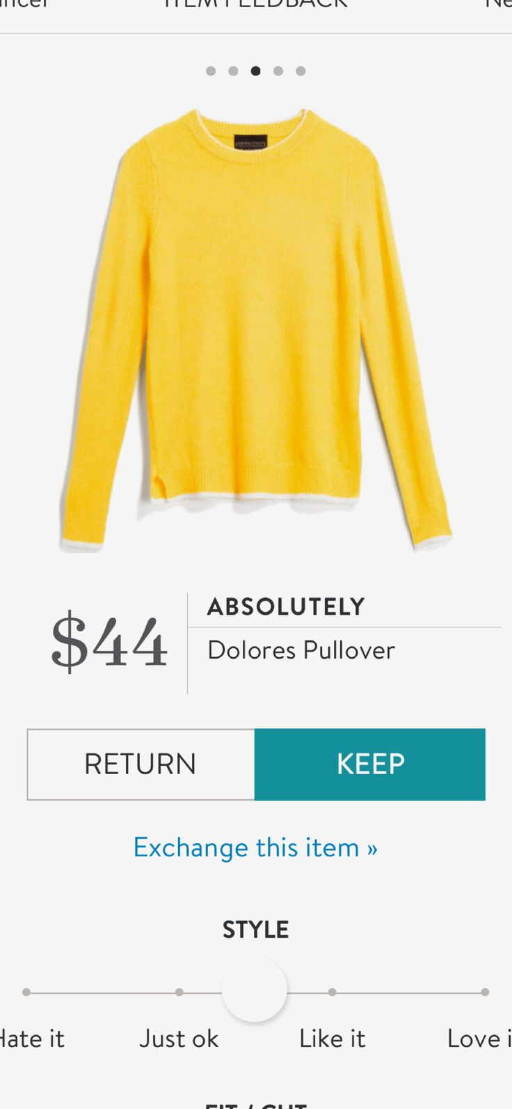 Stitch fix yellow sweater Please please please send this in my next fix or any fix possible!!!