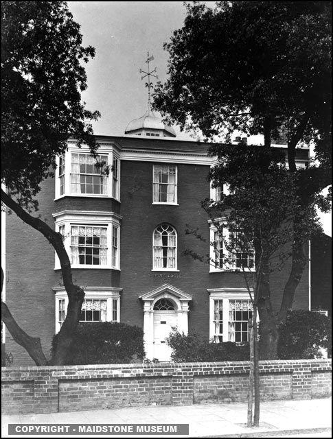 Folkestone -Cupola House Dover Road 1919