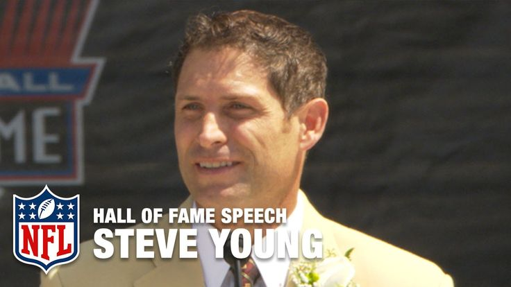 Steve Young Gratifying Hall of Fame Speech | NFL Network
