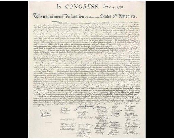 Declaración de Independencia de Estados Unidos GOD BLESS AMERICA! HAPPY FOURTH OF JULY! #GodBlessAmerica #HappyBirthdayAmerica #america #americathebeautiful #GodBlessyouall #usa #eeuu #Happy4thofjuly