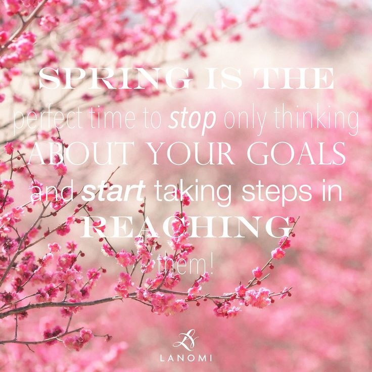 It's SPRING! Are you ready for your next step?