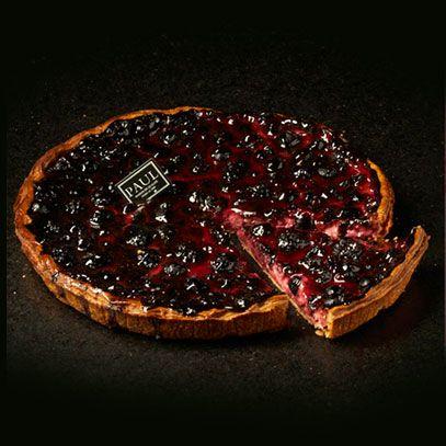 PAUL : Boulangerie et Pâtisserie Française depuis 1889 - COLLECTIONS / Pâtisserie / Tarte Myrtilles