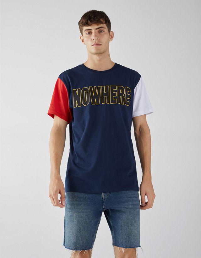 Polos Y Camisetas De Hombre Otoño Invierno 2018 Bershka Ropa De Hombre Camisetas Camisetas Geniales