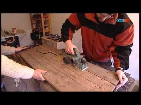 Möbel aus Europaletten - MDR Einfach genial - 27.03.2012 - YouTube