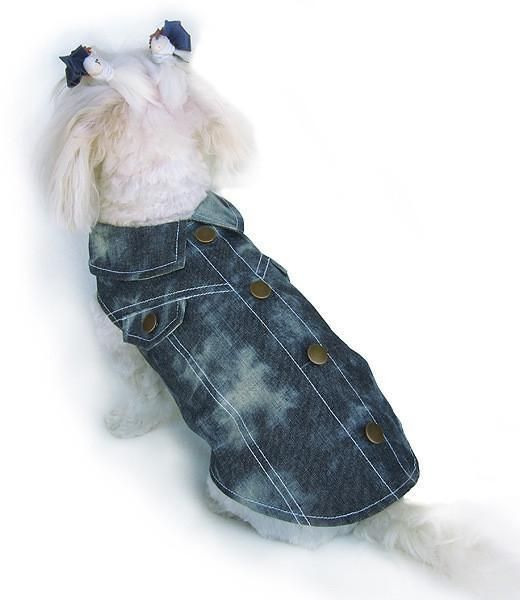 Faded Demin Jacket Vest Style Adjustable Neck & Chest size
