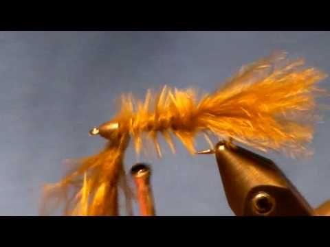Fly Tying The Marabou Leech Trout Salmon Bass Fishing