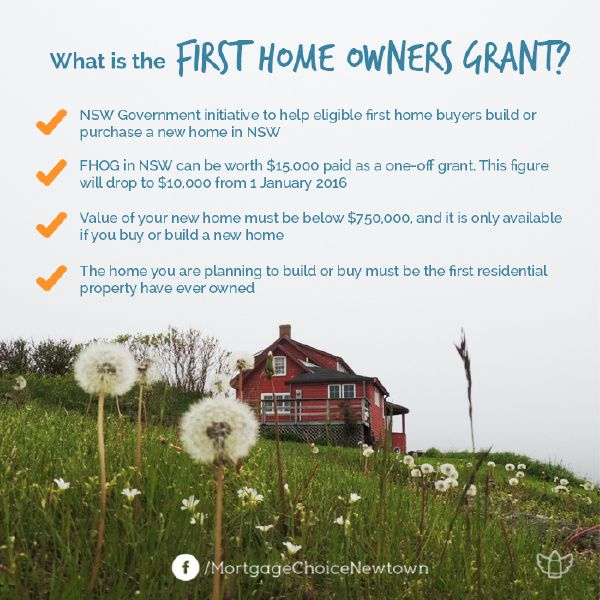 With all of the changes surrounding the First home buyers grant in the past, it is easy to get confused as to what you are entitled to. The rules around the First Home Owner Grant (FHOG) differ between states and territories, so let's take a look at what you could be eligible for in NSW.