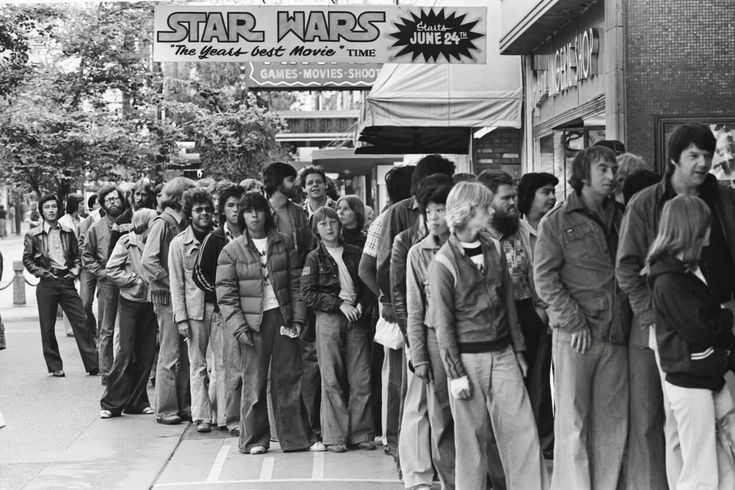 Star Wars opening day Vancouver June 24 (my birthday) 1977... I was 12 and not allowed to go :(