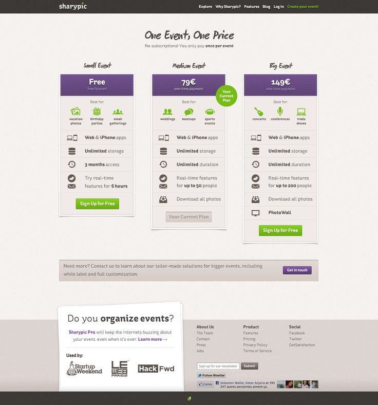 41 best images about web pricing comparison tables on for Table flat design