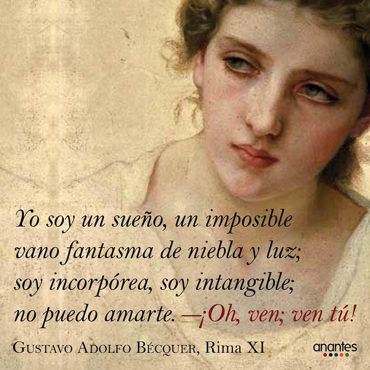 Yo soy...!   Gustavo Adolfo Bécquer, Rima XI