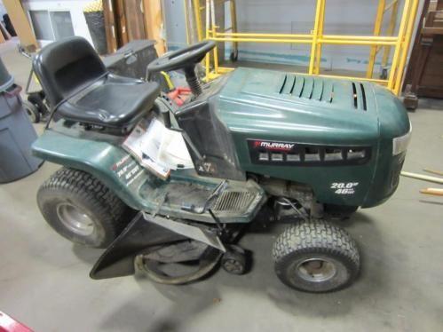 Murray Lawn Mower - ONLINE ONLY AUCTION - Start Ending Tuesday, December 2, 2014 @ 6PM Central. Oshkosh, WI.