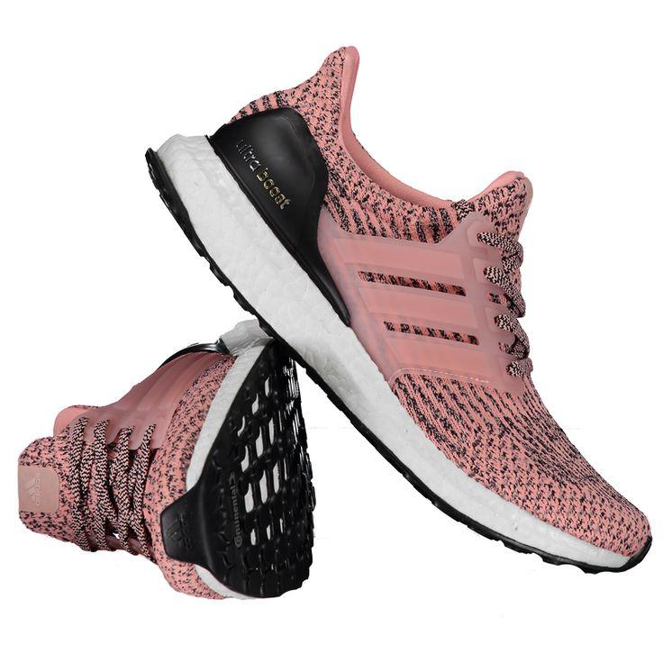 T�nis Adidas Ultra Boost Feminino Rosa Somente na FutFanatics voc� compra  agora T�nis Adidas Ultra Boost