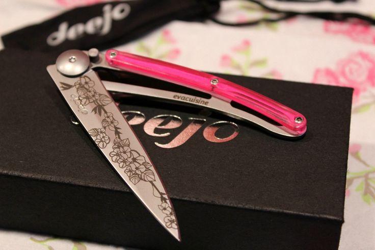Concours : Gagnez un couteau de poche ultra-léger Deejo à personnaliser vous-même !