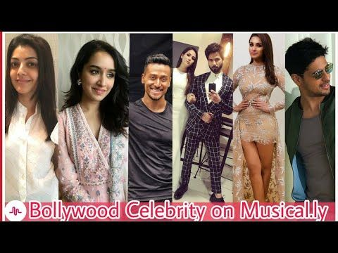 Bollywood Celebrity's on Musical.ly – Celebrity News