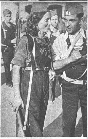 Spain - 1936. - GC - milicianas